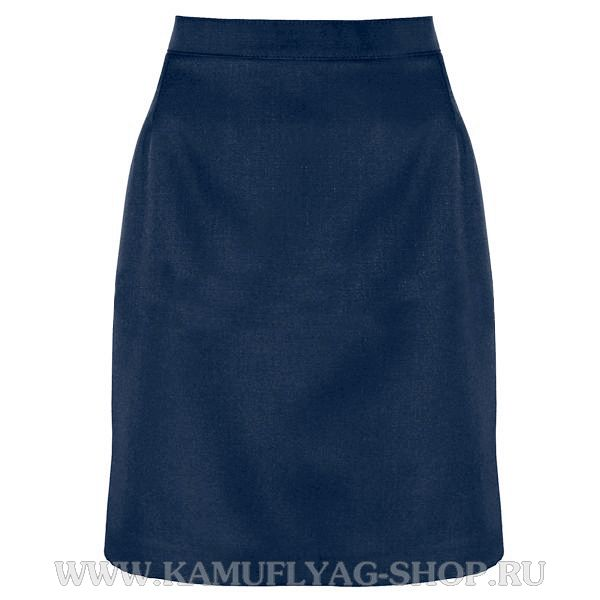Юбка форменная синяя