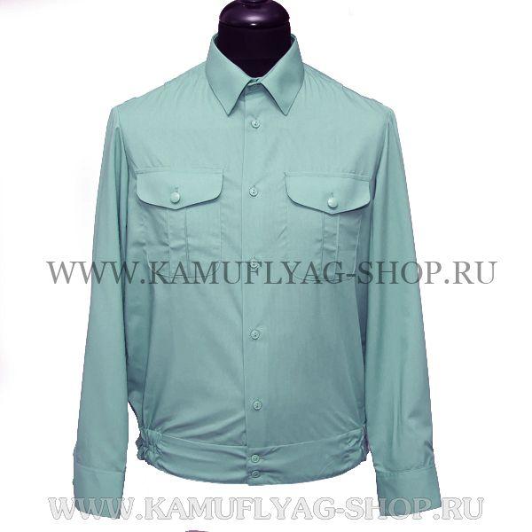Рубашка форменная, олива