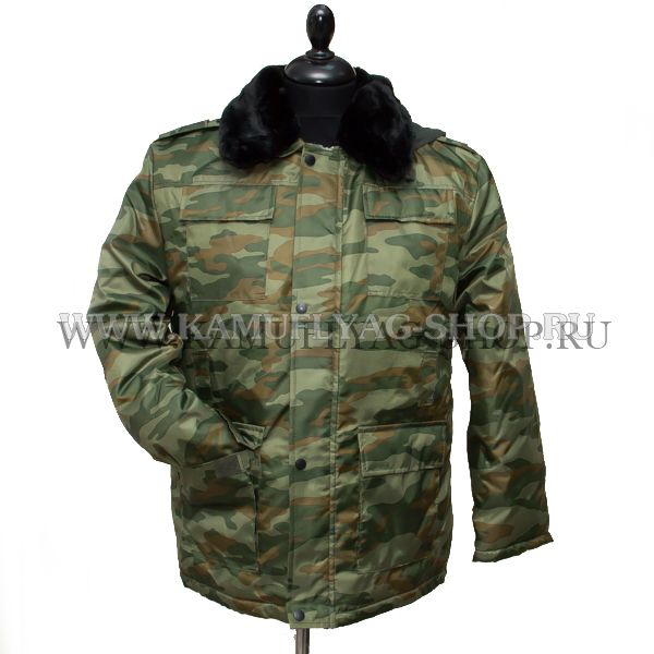 Куртка-бушлат зимний ФЛОРА