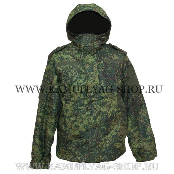 Куртка-ветровка камуфлированная, цифра