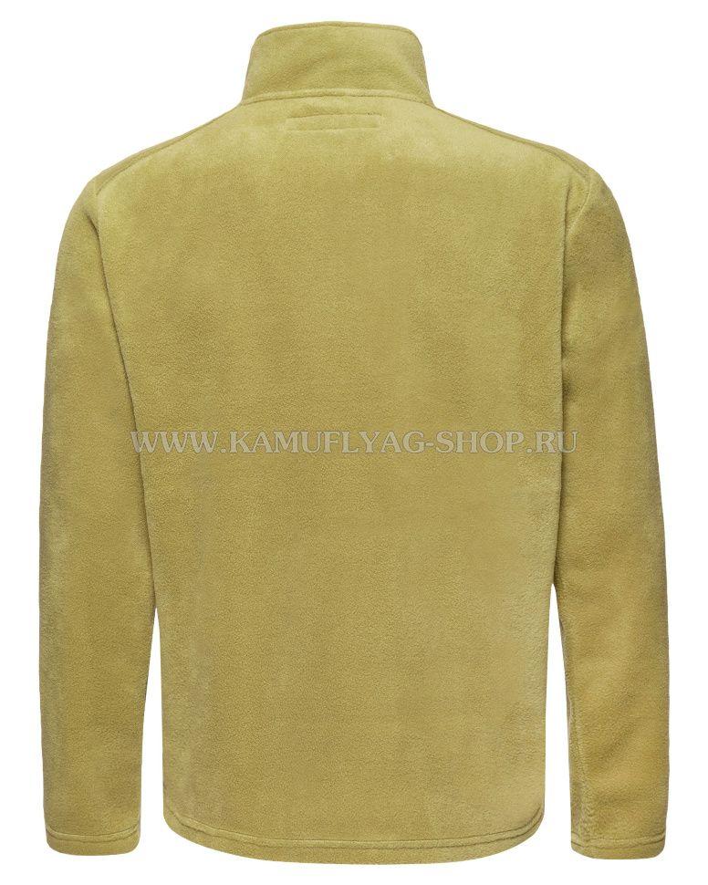 Джемпер флисовый мужской, (цвет:олива)