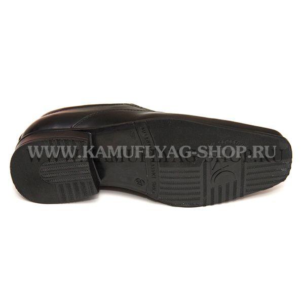 Туфли форменные мужские черные