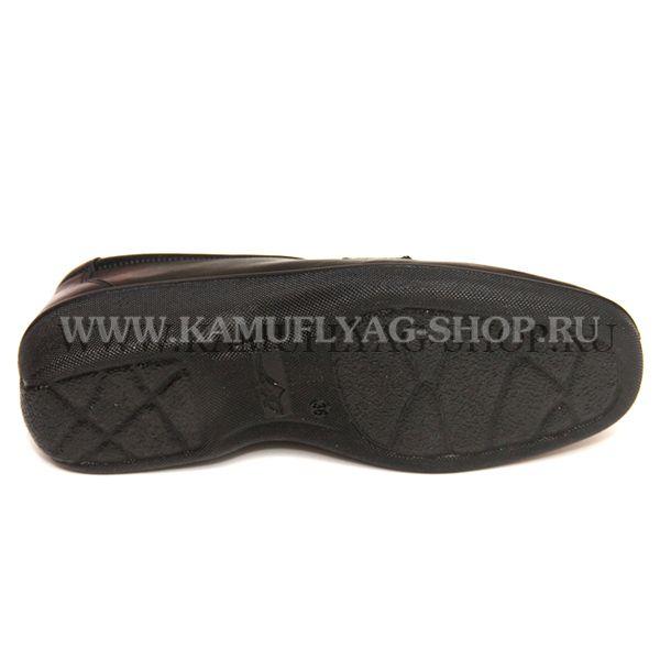 Туфли форменные женские черные