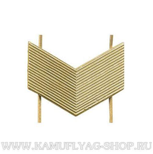 Лычка металлическая Старший Сержант, золотая, (шт.)