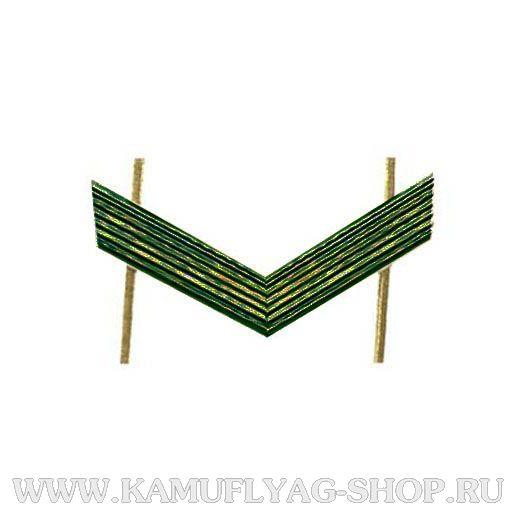 Лычка металлическая ВС Ефрейтор, защитная, (шт.)