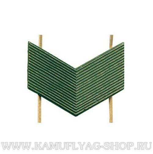 Лычка металлическая ВС Старший Сержант, защитная, (шт.)