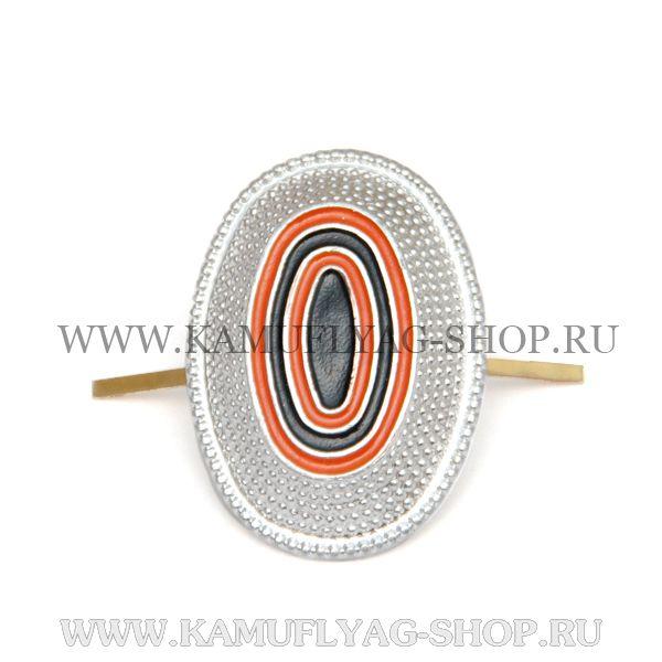 Кокарда металлическая Казачество унтер-офицерская, серебро