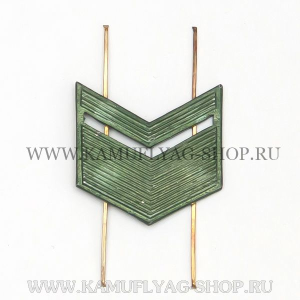 Лычка металлическая ВС Старшина, защитная, (шт.)