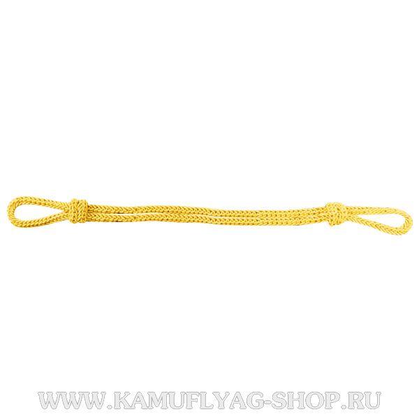 Филигрань на фуражку шелковая, желтая