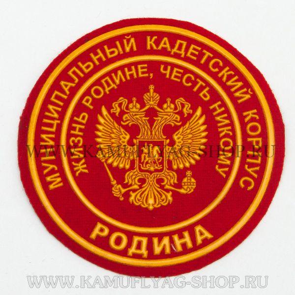 Шеврон ВПК РОДИНА, пластизоль