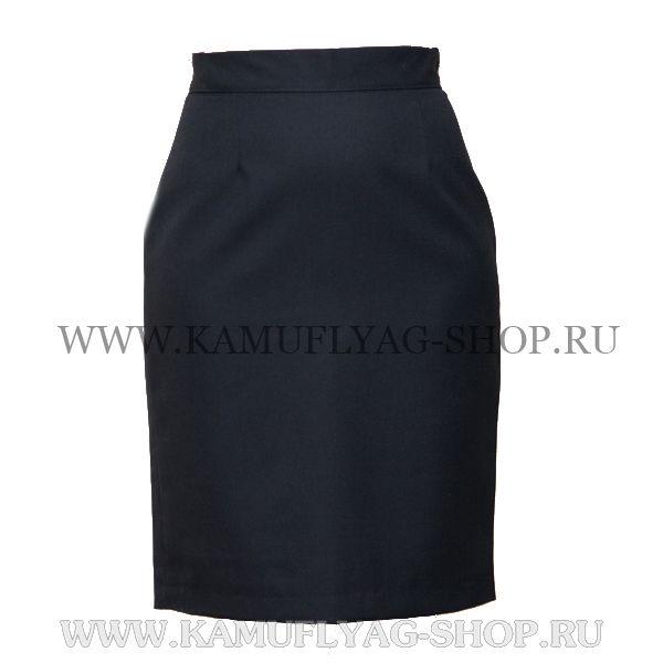 Юбка форменная черная