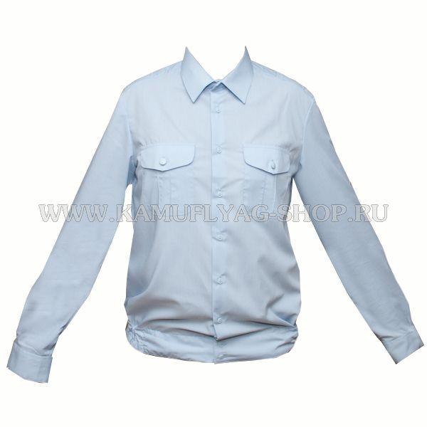Сорочка форменная, голубая (полиция)