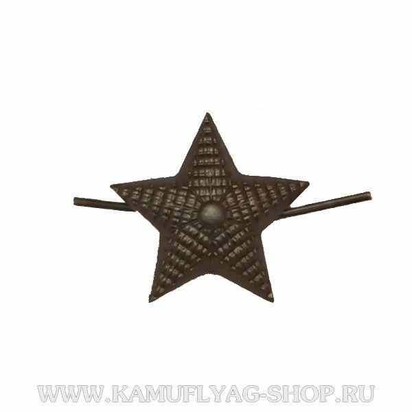 Звезда металлическая рифленая, 13мм, защитная (шт.)