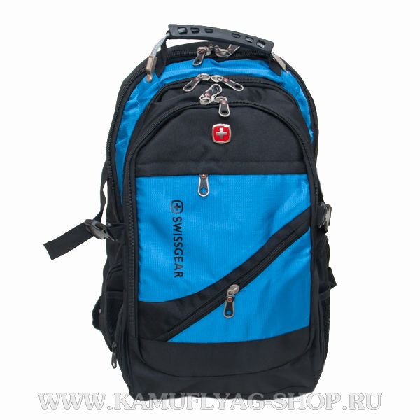 Рюкзак Swissgear из прочной ткани, синий