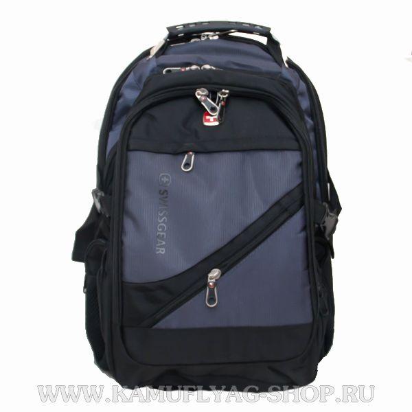Рюкзак Swissgear из прочной ткани, серый