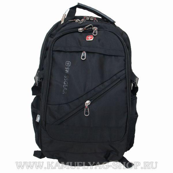 Рюкзак Swissgear из прочной ткани, черный
