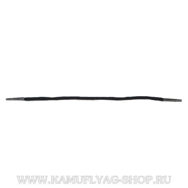 Шнурки для крепления погон, черные, пара
