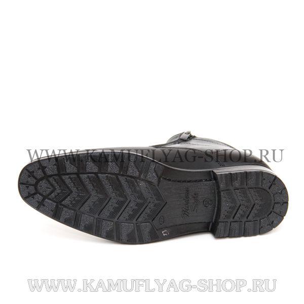 Ботинки форменные мужские зимние, искусственный мех