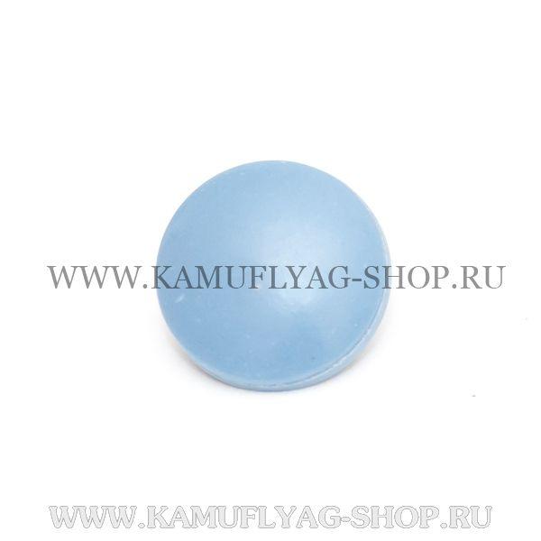 Пуговица рубашечная ФСБ / ПС ФСБ, на ножке, голубая