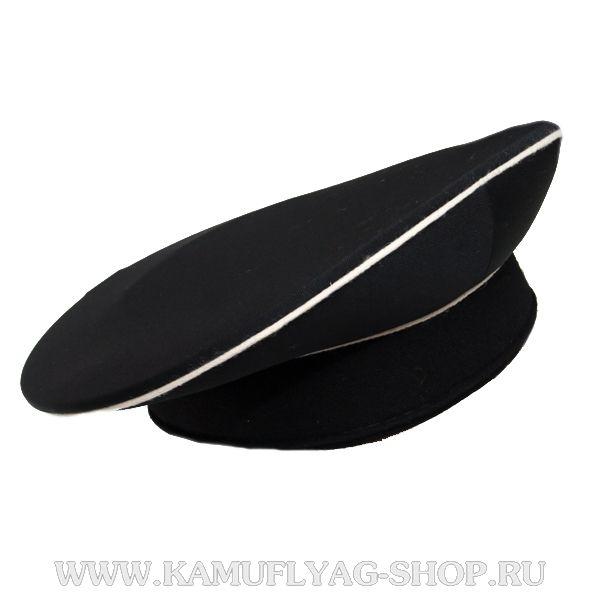 Бескозырка ВМФ, черная