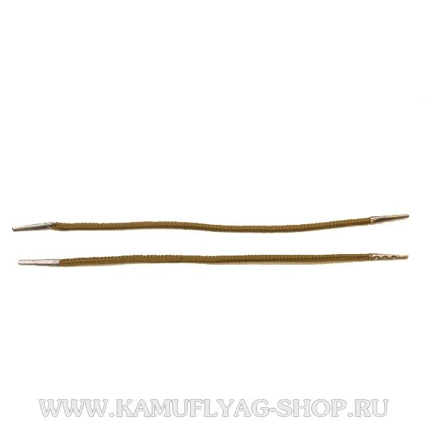 Шнурки для крепления погон, оливковые, пара