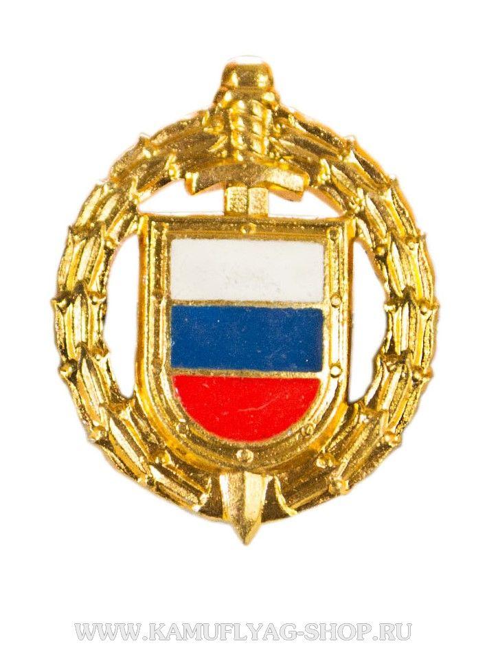 Эмблема петл.знак ФСО, нового обр.,золото, эмаль (шт.)